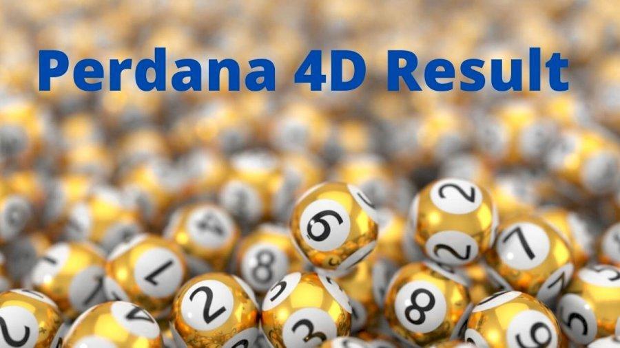 New Perdana Lottery Result