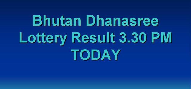 bhutan 3d result 2021