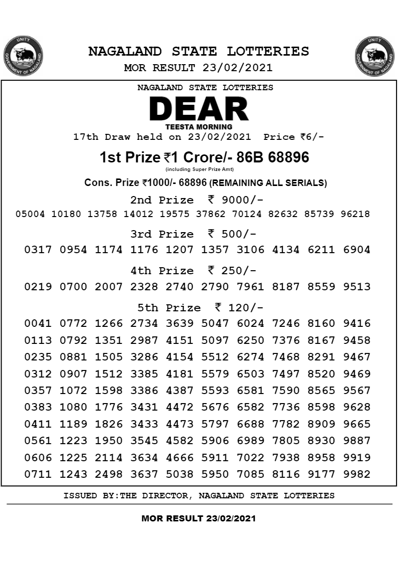 anshu lottery result diwali bumper