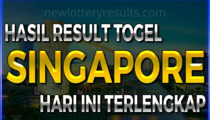check latest SGP 6d lotto result