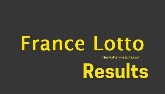 get latest french lottery results 2021