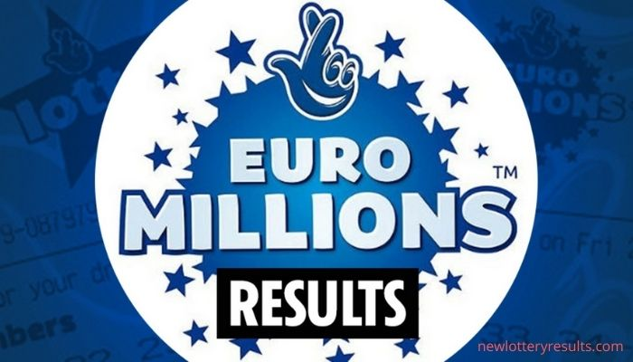 EuroMillions results history and lottery draw prize breakdown explained 2021