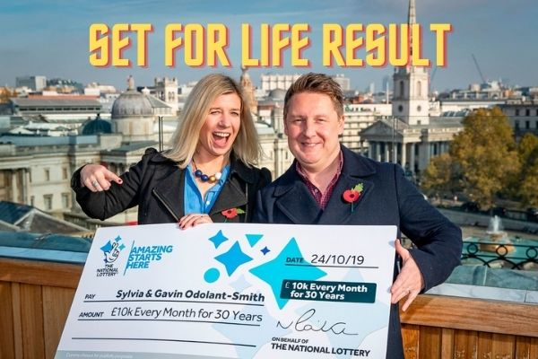 set for life uk results tonight 2021 june